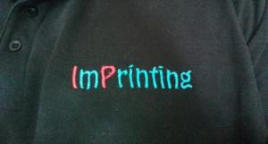 Imprinting è anche ricamo personalizzato